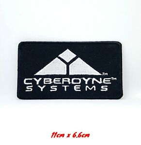 Terminator Movies Cyberdyne Systems Logo Iron Sew On Embroidered Patch #295