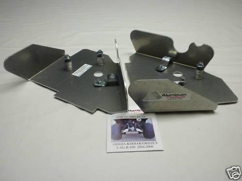 YAMAHA GRIZZLY//KODIAK 450-04-14 SG-R  Rear Boot Guards Skids