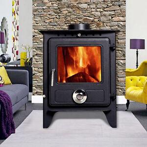 Image Is Loading 6 5kw Reepham Clean Burn Modern Log Burner