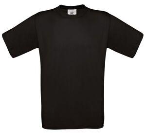 Men-039-s-B-amp-C-Cotton-Exact-150-Short-Sleeve-Crew-Neck-T-Shirts-Size-S-to-4XL-tee