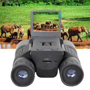 12X32 Zoom Color HD 720P Video Recording Digital Telescope Binocular Scopes Cam
