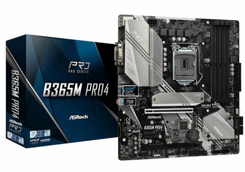 VGA Micro ATX 1151 4 DDR4 CrossFire DVI,. Intel B365 Asrock B365M PRO4