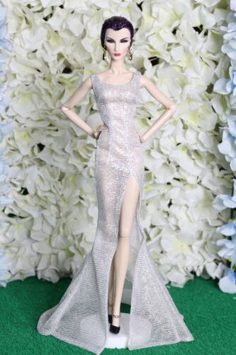 NEW dress gauze for  Fashion royalty nuface barbie silkstone by t.d.fashion