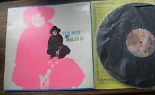 MELANIE – The best of Melanie – VG+ Japanese tri-fold LP YS-2425-DA (no obi)