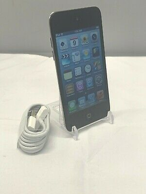 Apple iPod Touch 4th Generation Black 64 GB GREAT Bundle #4446