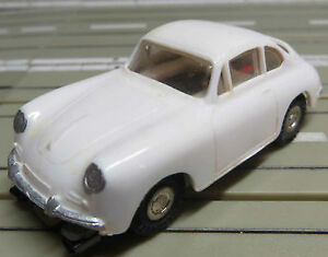 FALLER AMS 4835 Type 1 Porsche 356 WITH BLOCK ENGINE 4 New Repro Tyres