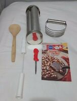 Vtg 90s The Pampered Chef Lot 6 Original Tools Loafer Spoon Blender Cutter Brush