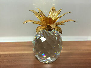 BANDTILESWAROVSKI Figur Große Ananas 10,5 cm ! Top Zustand !!!