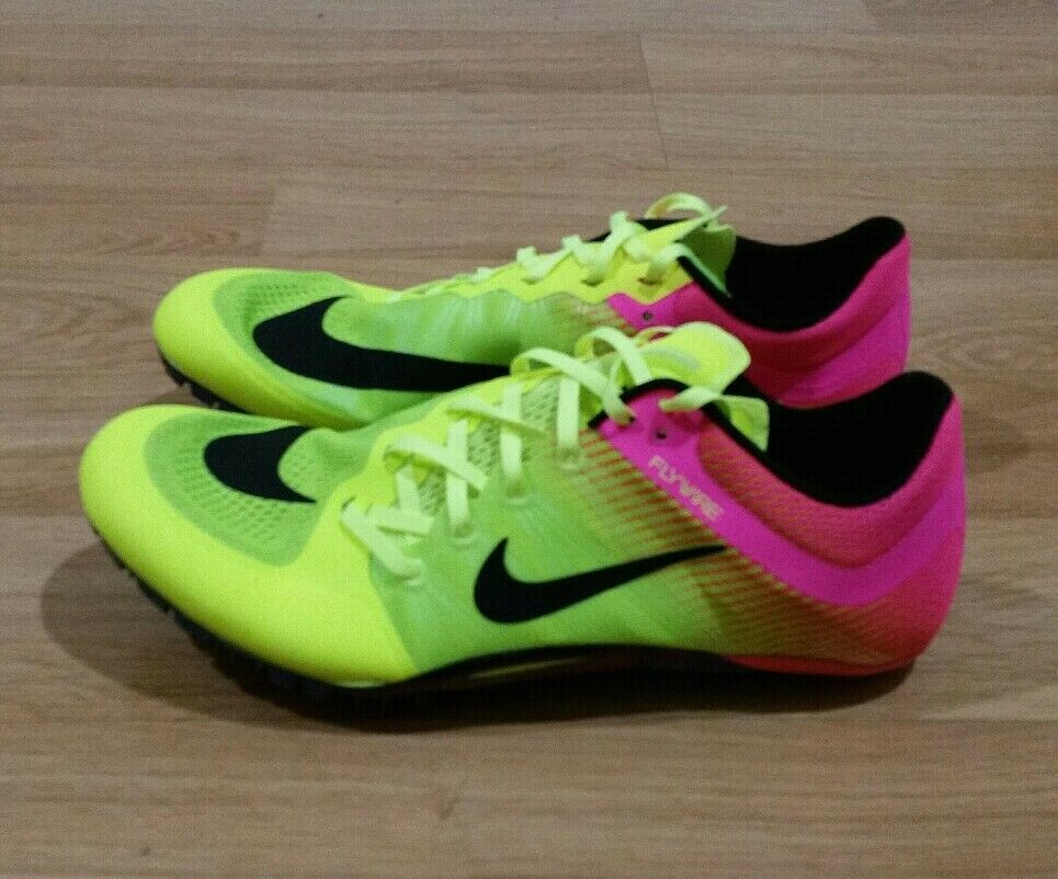 NEW Nike Zoom Ja Fly 2 Men Size 11 Track & Field Spikes Rio Volt Pink 705373-999