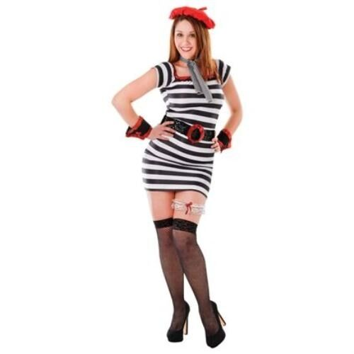 Sexy French Lady France Fancy Dress Costume Accessory Set P6