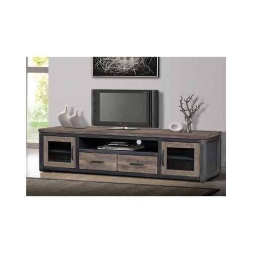 Ordinaire 80 Inch Wood Rustic TV Entertainment Stand Console Media Storage Vintage  LOOK | EBay