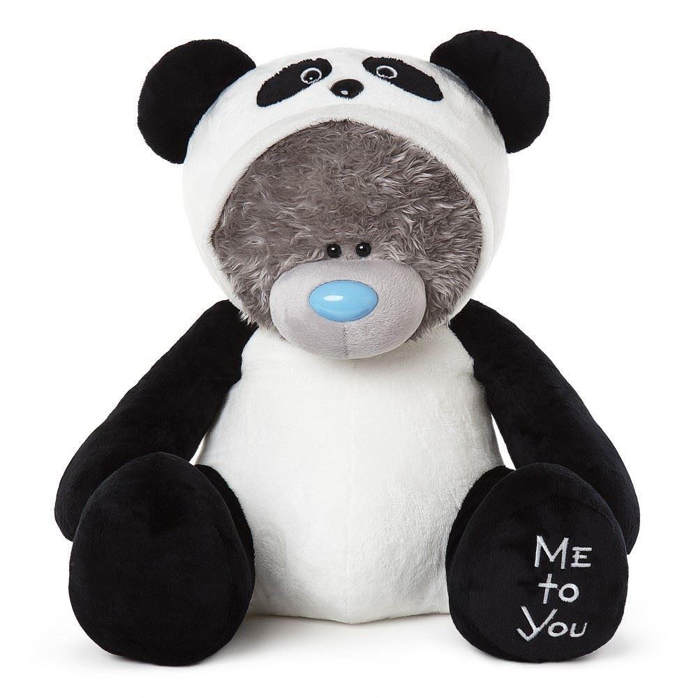 Me to You 24 24 24  Large Animal Costume Bear Dressed as Panda 505d58