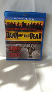 DAWN-OF-THE-DEAD-LAND-OF-THE-DEAD-unrated-Director-039-s-Cut-2-Blu-Ray-SET