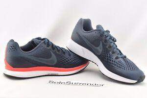Nike Air Zoom Pegasus 34 - SIZE 15 - NEW - 880555-403 Crimson White Blue Black
