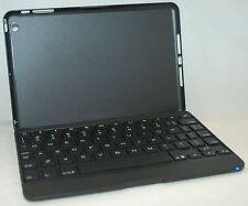 ZaggKeys Apple iPad Mini BLACK Folio Full Body Case Lit-Keyboard zagg bluetooth