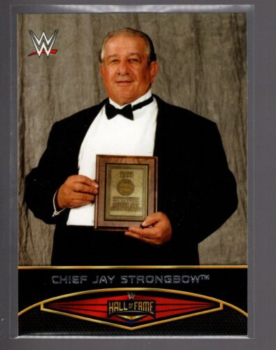 2015 TOPPS WWE Road Wrestlemania HALL OF FAME #1  CHIEF JAY STRONGBOW