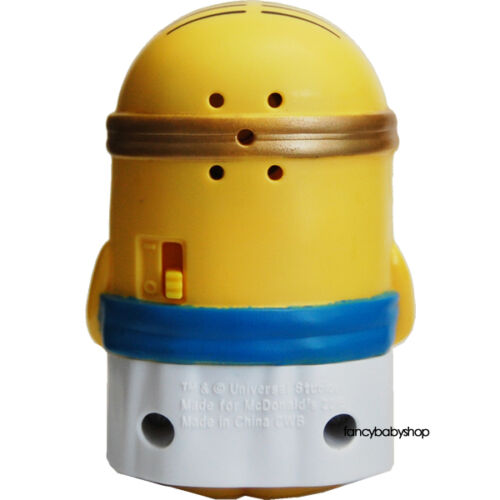 Mcdonalds 2015 Minions Talking Egyptian Minion #6 Happy Meal USA Release New