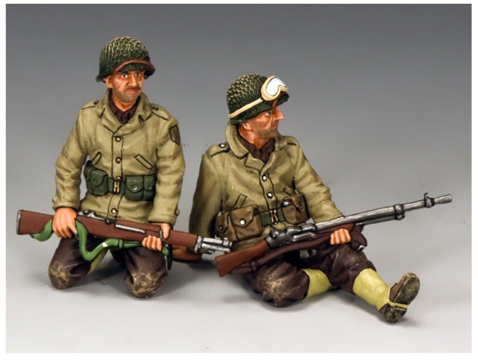 DD229 American WW2 US Army Tank Tank Riders Set  2 D Day Normandy Mint In Box DD 229
