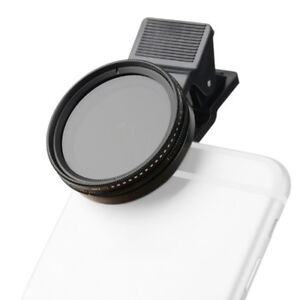 Zomei-37mm-Adjustable-Neutral-Density-Clip-on-Phone-Camera-ND-Filter-Lens