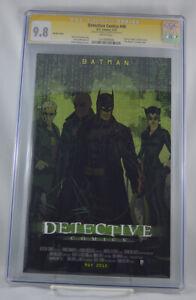 Detective-Comics-40-CGC-9-8-Movie-Variant-Matrix-Signed-Brian-Stelfreeze