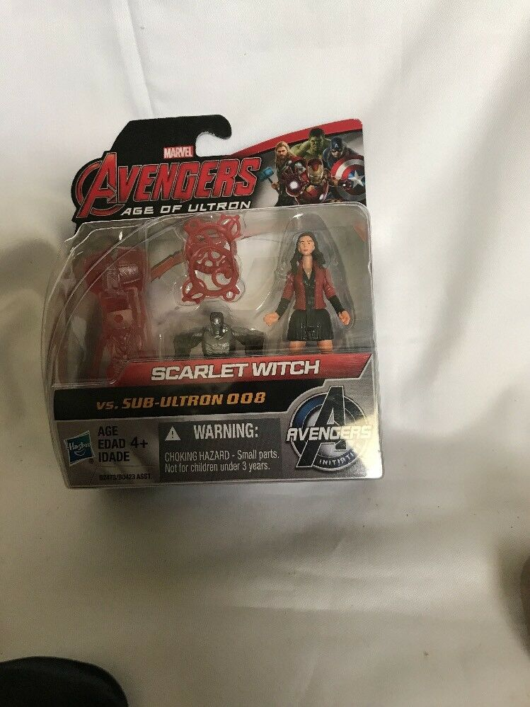 Marvel Avengers Age Of Ultron Vs Scarlet Witch Vs Ultron Sub