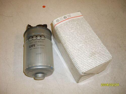 Diesel filtre à carburant vw passat B5 2.5 V6 tdi 057127435D new genuine vw part