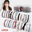 24Pcs-Pearl-Rubber-Elastic-Hair-band-Ribbon-Bowknot-Hair-Ropes-For-Women-Girls thumbnail 1