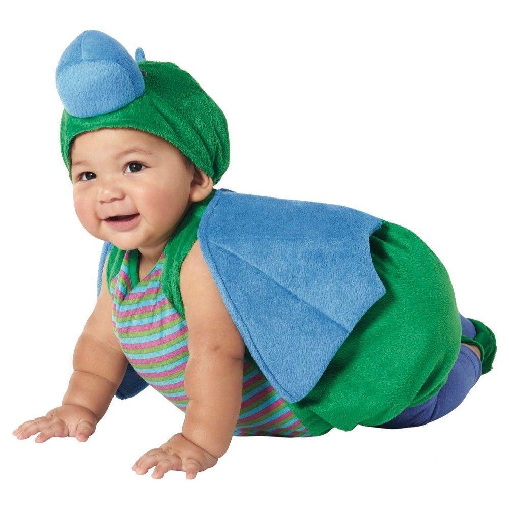 DRAGON PLUSH COSTUME 0-6 6-12 12-18 Month Halloween Cute Infant Boys Baby NEW