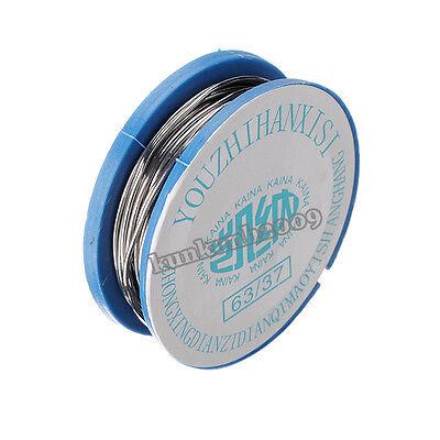2x 0.8mm Tin Lead Rosin Core Flux Welding Iron Solder Soldering Wire Reel 1.7M