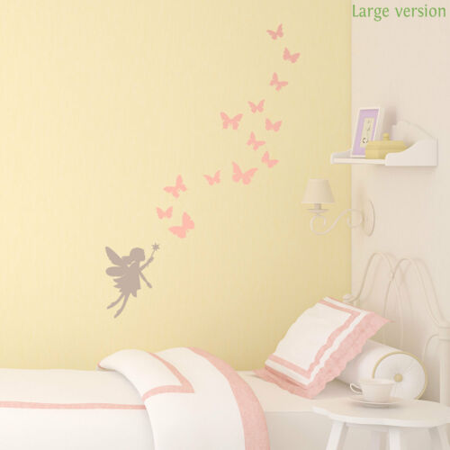 Fairies and butterflies wall stickerFairy Princess themeStickerscape