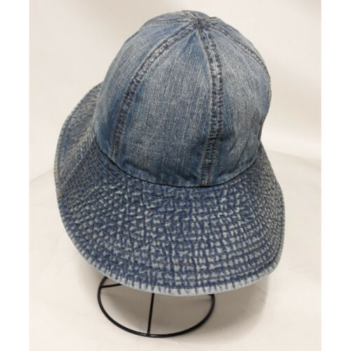 Cotton Denim Casual Bucket Visor Hat Outdoor activities Fashion Wide Brim Cap