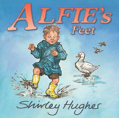 1 of 1 - Very Good, Alfie's Feet, Hughes, Shirley, Book
