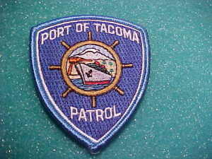 WA Tacoma Scroll Patch