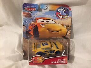 Disney-Pixar-Cars-DINOCO-CRUZ-RAMIREZ-Color-Cambiadores-de-Color-Cambiante-TOKYO-DRIFT