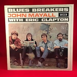 JOHN-MAYALL-Blues-Breakers-1986-vinyl-LP-EXCELLENT-CONDITION-Eric-Clapton