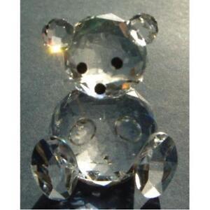 Crystal-World-Cut-Glass-Teddy-Bear-Figurine-Cute-Animal-Ornament-Gift-Present