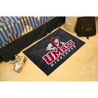 FANMATS NCAA U Mass  Minutemen Nylon Face Carpet Car Mat