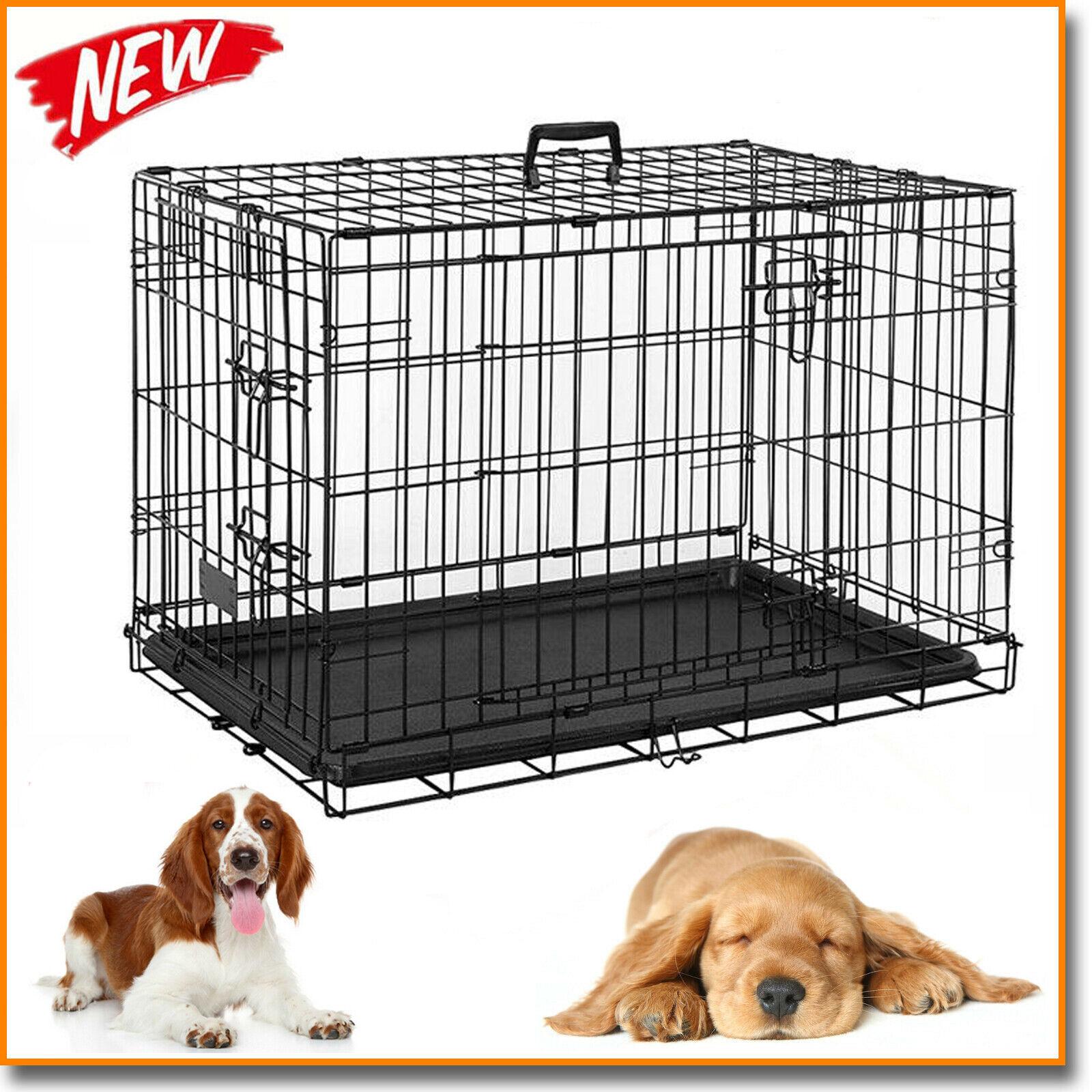 Elitefield 3 Door Folding Soft Dog Crate Indoor Outdoor Pet Home 36 X 24 X 28 For Sale Ebay