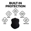 Pack-of-5-Black-Bandanas-Headband-Face-Mask-Shield-Scarf-Neck-Gaiter-Balaclava thumbnail 3