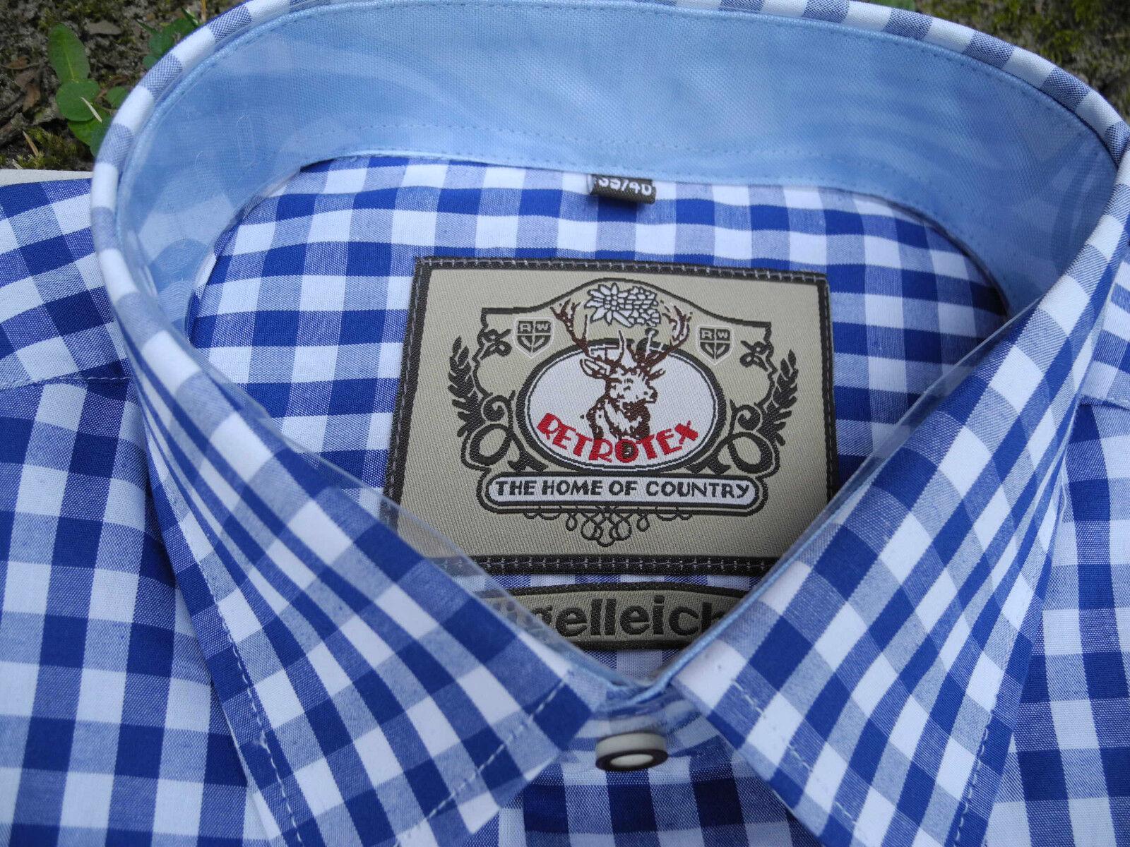 4tlg  Set Trachten Lederhose Baumwoll Hemd Hemd Hemd in blau weiss Kniestrümpfe Neu | Wunderbar  | Kaufen Sie online  | Räumungsverkauf  | Shopping Online  | Modern  b3ded5