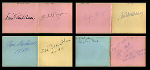 76-CLASSICAL-MUSICIANS-AUTOGRAPH-ALBUM-1967-1972-Conductors-Pianists-Guitarist