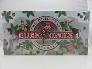 BUCKOPOLY-Ohio-State-U-OSU-Buckeyes-Version-Of-Monopoly-NEW-SEALED-Made-In-USA