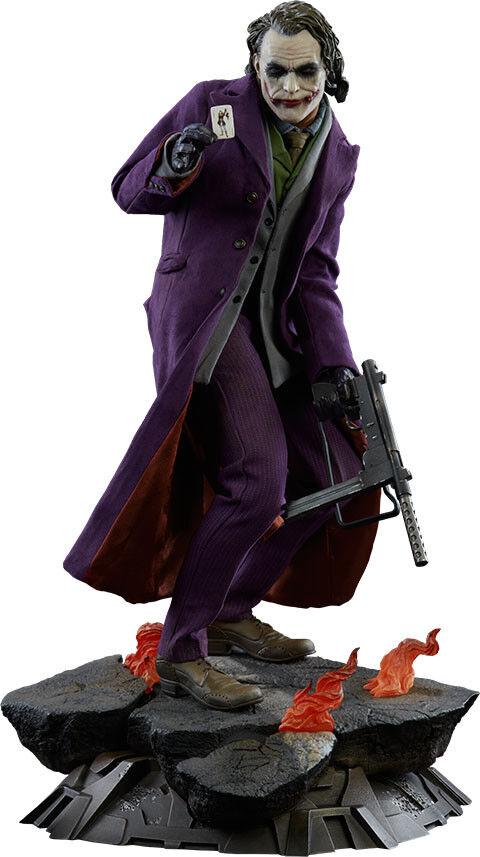 BATMAN  The Dark Knight - - - 19  Joker Premium Format Statue (Sideshow)  NEW 603f27