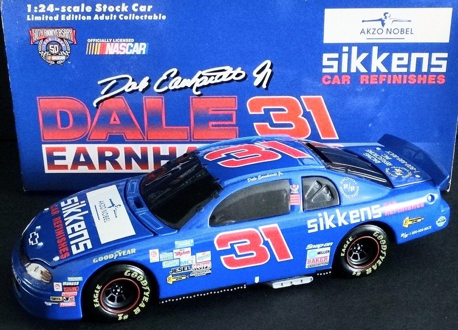 Dale Earnhardt, Jr.  31 Sikkens Car Refinishes 1/24 Action 1997 Monte Carlo BWB
