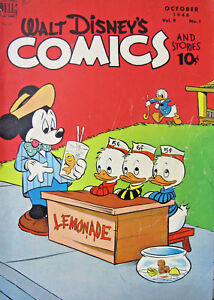 Walt-Disney-Comics-and-Stories-1948-97-Dell-Golden-Age-Comics-VG-4-5-10-cent