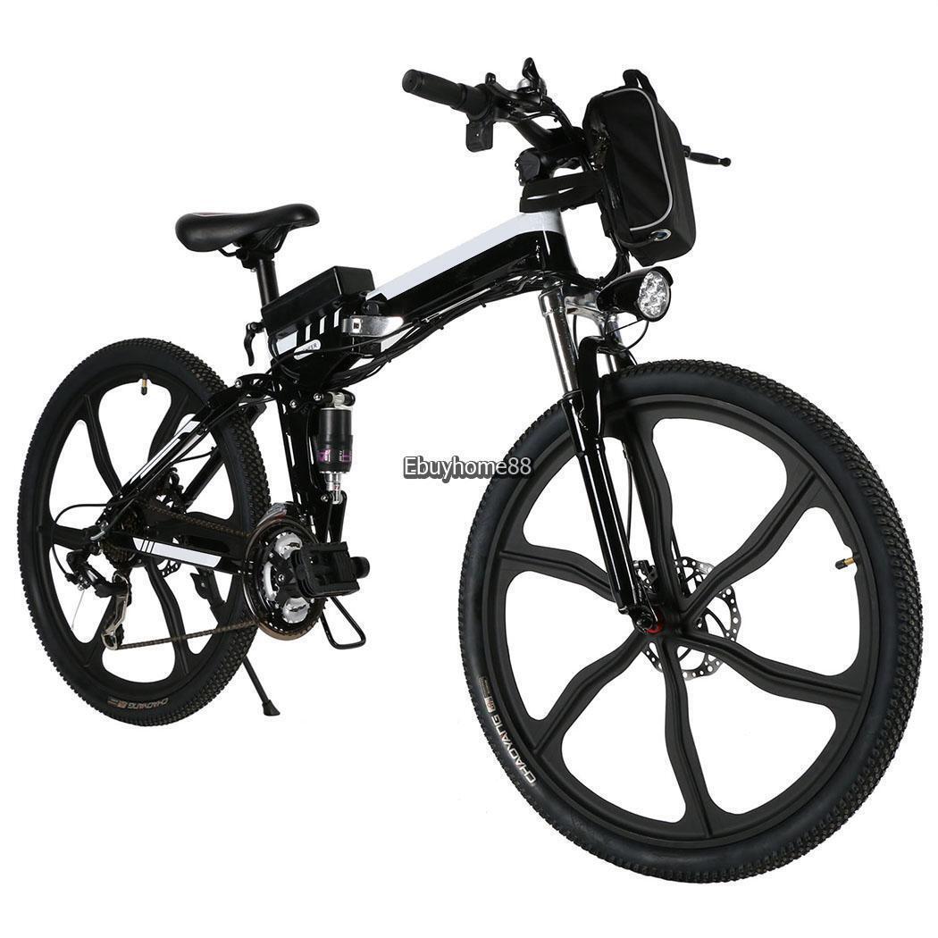 26 Zoll Mountainbike Alu Rahmen Shimano E-MTB Klapprad Fahrrad E-Bike E-MTB Shimano 36V 30km/h 153c02