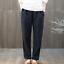 ZANZEA-8-24-Women-Elastic-Waist-Stipe-Pants-Office-Work-OL-Pinstripe-Trousers thumbnail 12