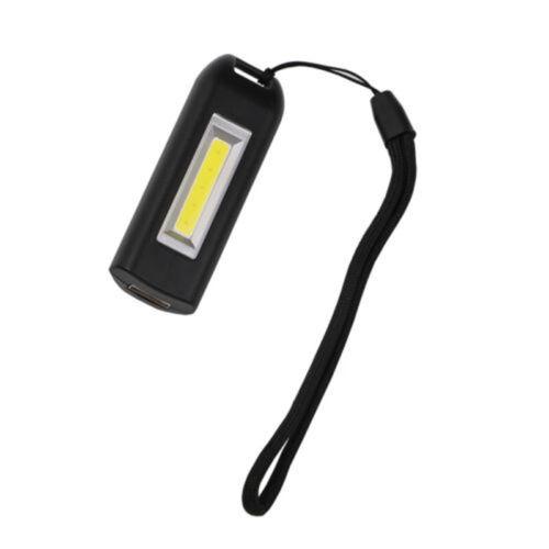 COB LED-Licht Taschenlampe Schlüsselanhänger Wiederaufladbar Taschenlampe USB