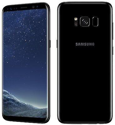 "Samsung Galaxy S8 G950FD Dual Sim (FACTORY UNLOCKED) 5.8"" 64GB Black Gold Gray"