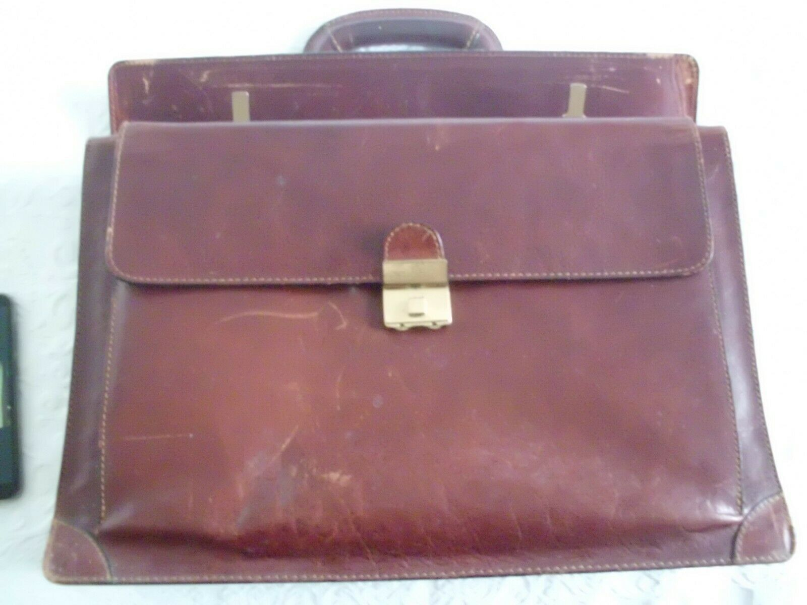 Classic Vintage 1990s LEATHER MAN VALIGETTA